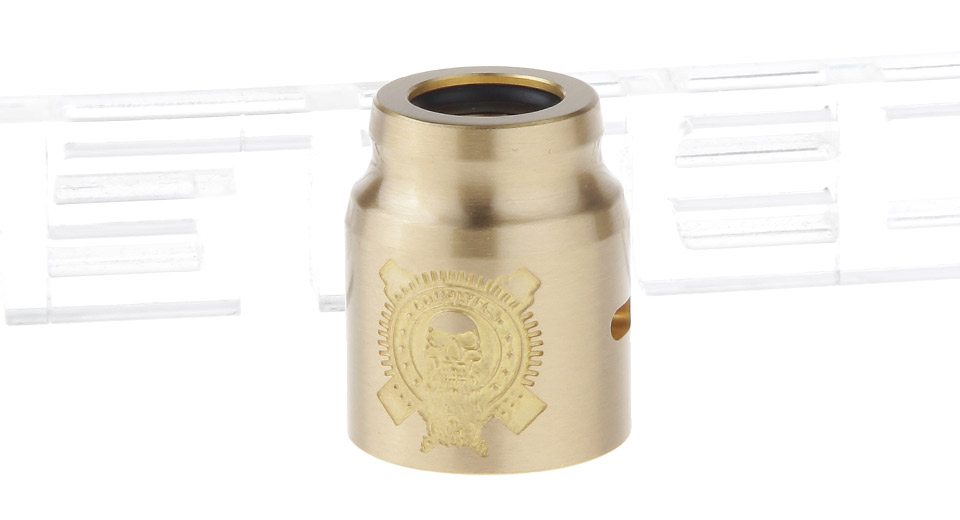 Replacement Brass Cap for Comp Lyfe Battle RDA Atomizer
