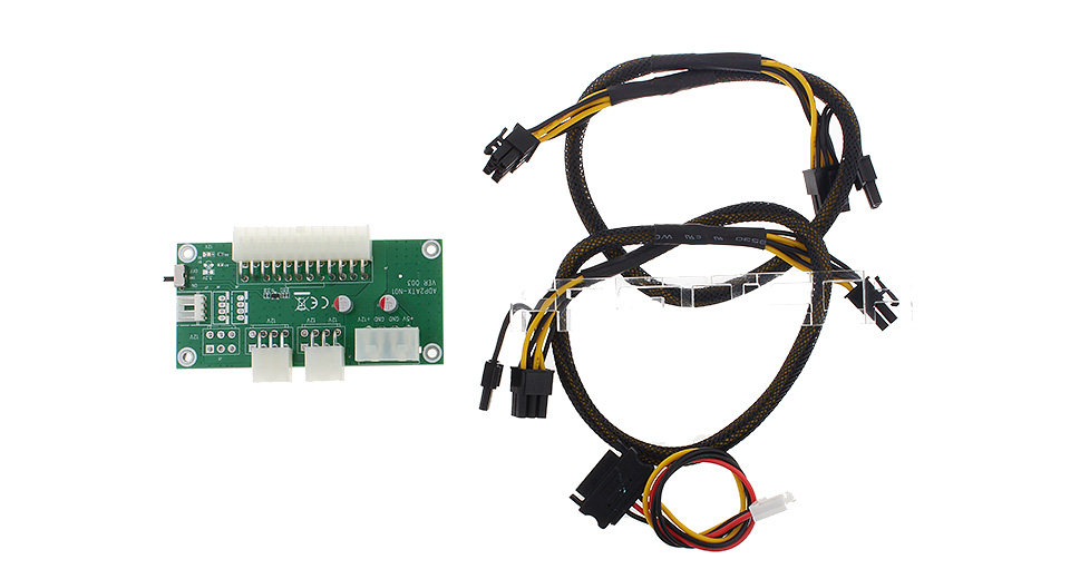 Multi-power Synchronous Starting Module Controller for PC