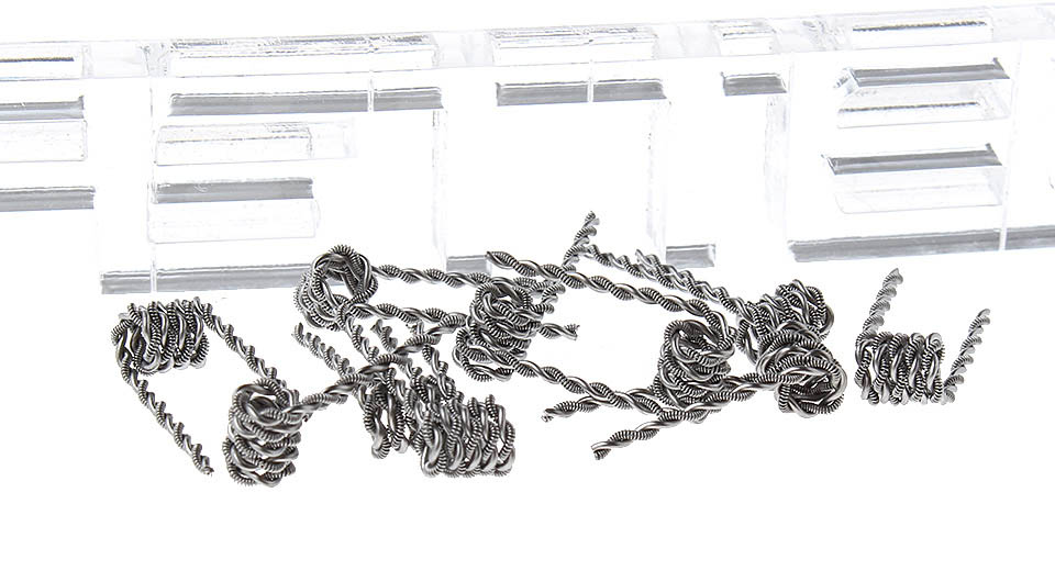 Kanthal A1 Taiji Pre-coiled Wire for RBA Atomizer (10 Pieces)