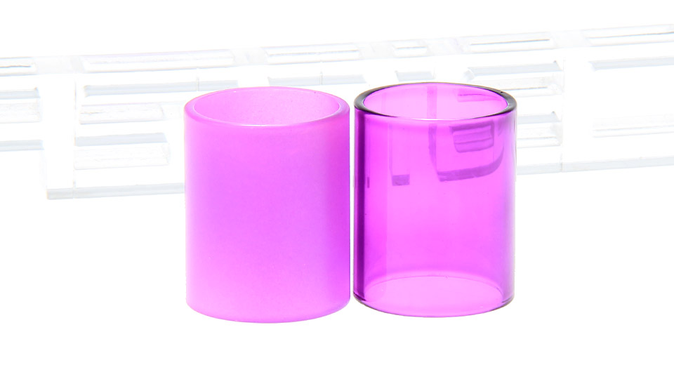 Replacement Borosilicate Glass Tank for Aspire Cleito Clearomizer (2 Pieces)