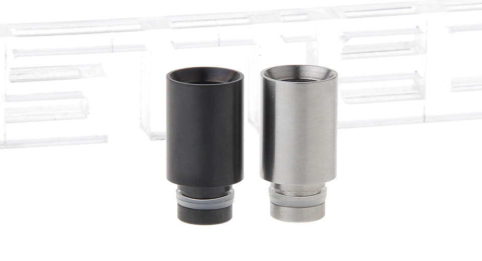 Stainless Steel 510 Drip Tip (2 Pieces)