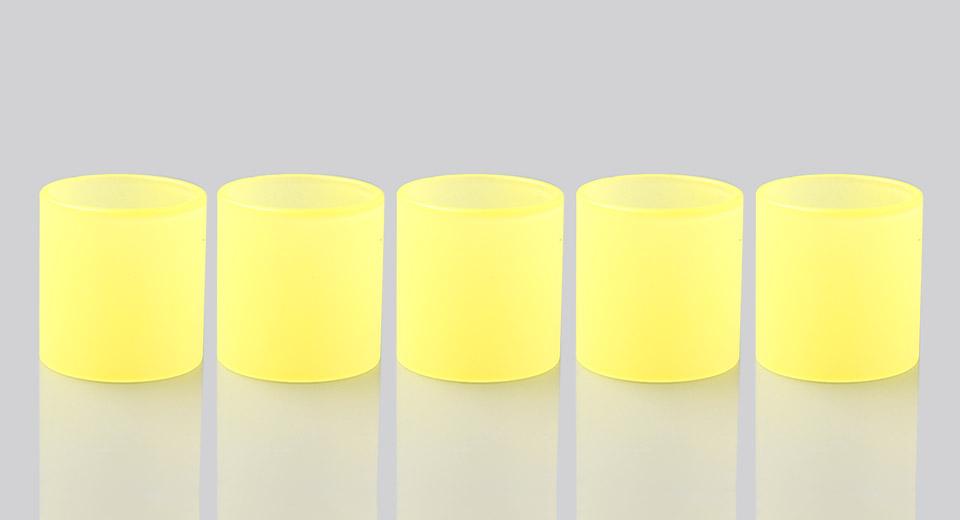 Replacement Color Changing Glass Tank for Smoktech TFV8 Clearomizer (5-Pack)