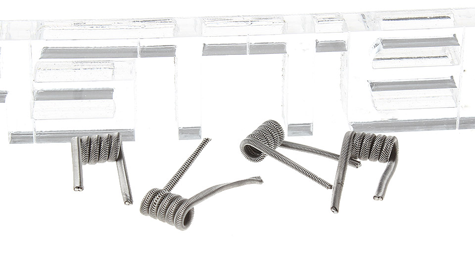 2-Alien Nichrome Pre-Coiled Wires for RBA Atomizers (4-Pack)