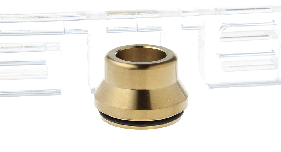 Stainless Steel Wide Bore Drip Tip
