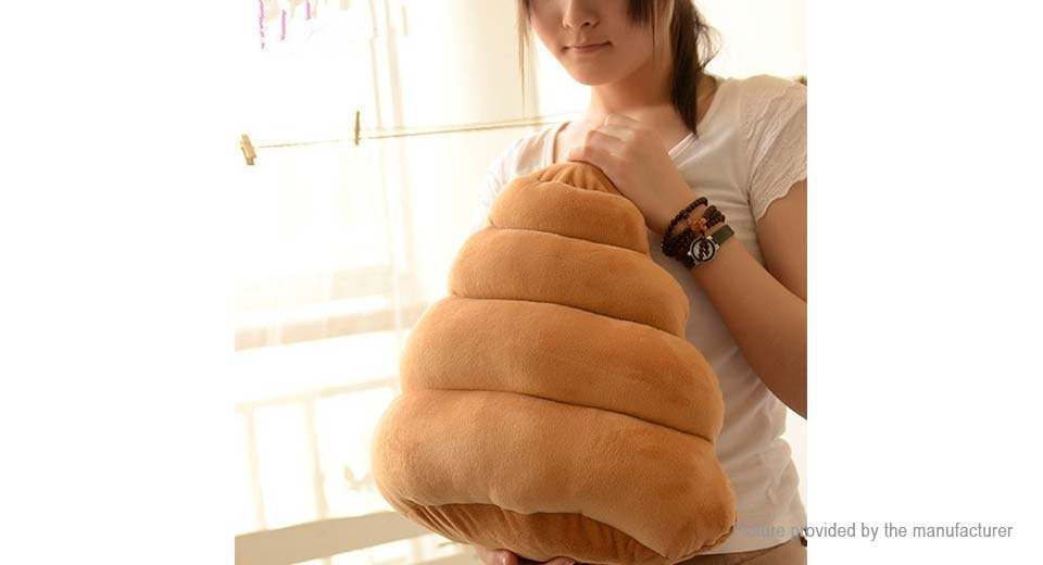 Poop Styled Cushion Pillow Stuffed Plush Toy