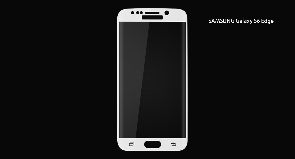 Tempered Glass Screen Protector for Samsung Galaxy S6 Edge+