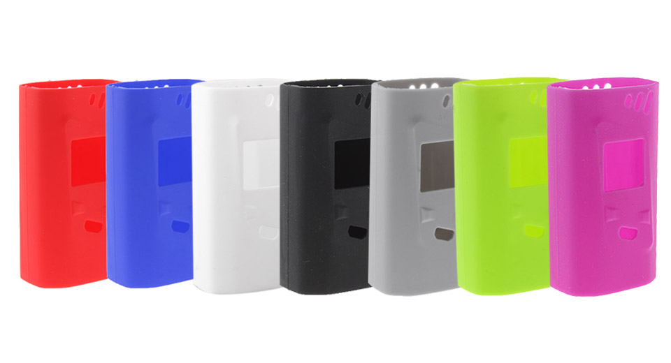 Authentic Clrane Protective Silicone Sleeve Case for Smoktech SMOK Alien 220W Mod (7 Pieces)