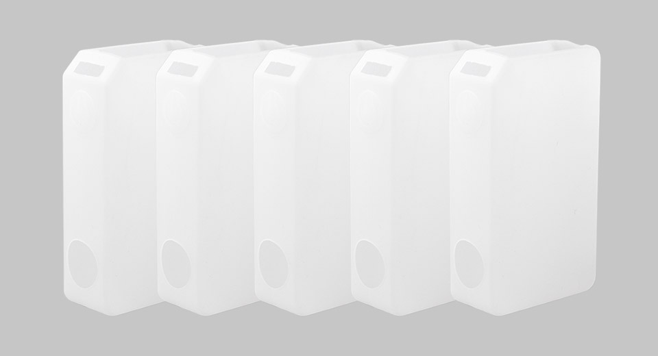 Protective Silicone Sleeve Case for Tesla Invader III 240W Mod (5-Pack)