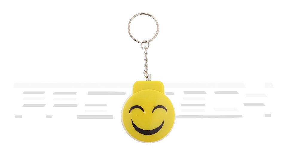 Smile Face Styled Self-defense Personal Security Alarm