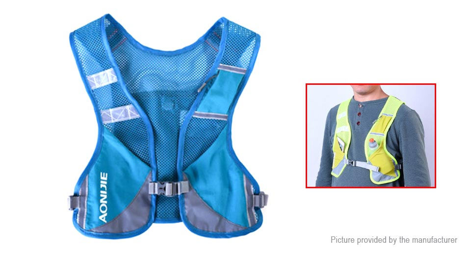 AONIJIE E884 Outdoor Sports Running Reflective Vest Backpack Hydration Pack