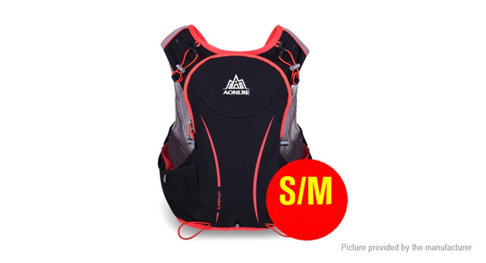 AONIJIE 5L Outdoor Sports Running Vest Backpack Hydration Pack (Size S/M)