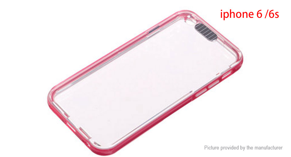 LED Flash Light Up Remind Incoming Call Blink Cover Case for iPhone 6s/6