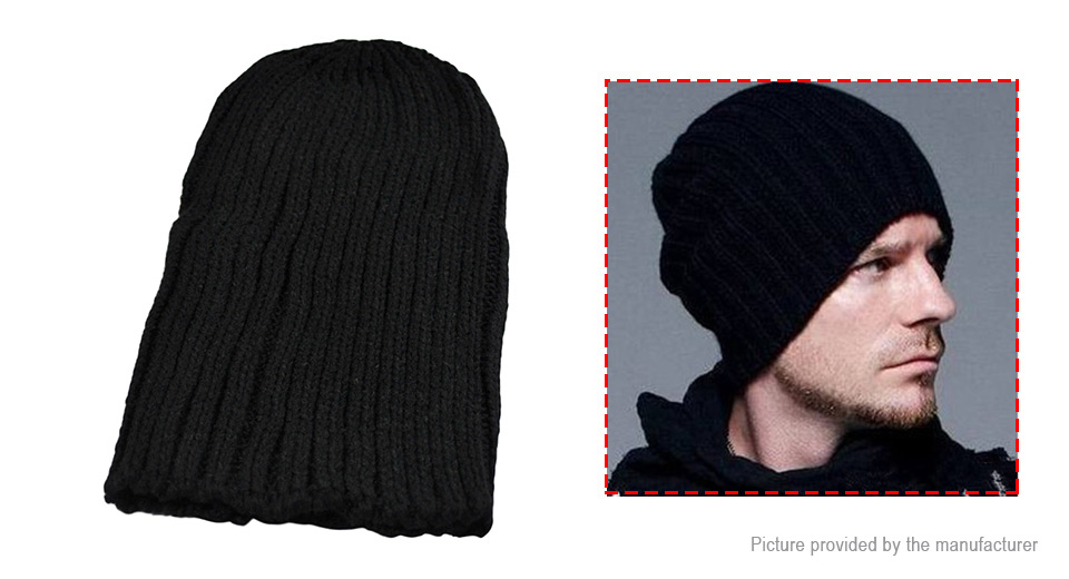 Unisex Fashion Casual Slouchy Beanie Hat Knitted Skull Cap
