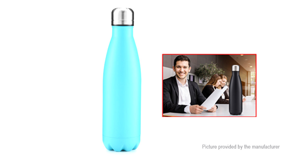 Stainless Steel Double Wall Vacuum Water Bottle Insulation Cup (500ml)