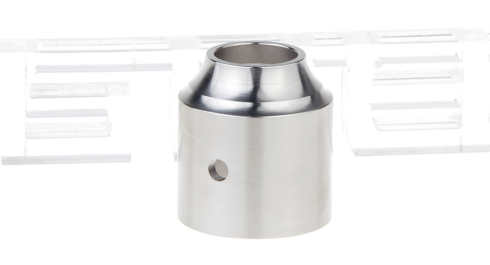 Replacement Stainless Steel Cap for AV Comp Lyfe Battle RDA Atomizer
