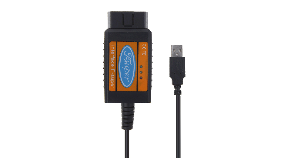 OBD2 Interface Auto Car Diagnostic Scanner Fault Code Reader Cable for Ford F Super