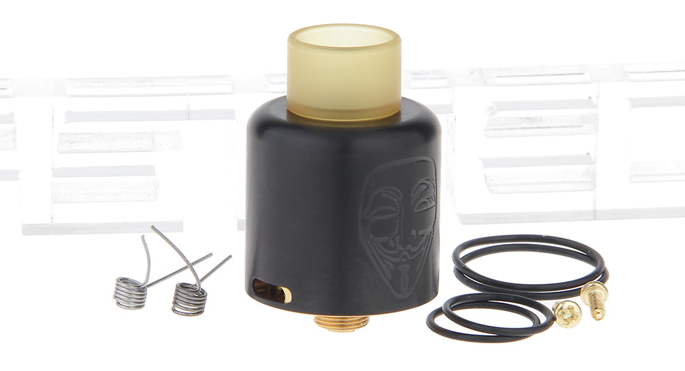Mask Styled RDA Rebuildable Dripping Atomizer