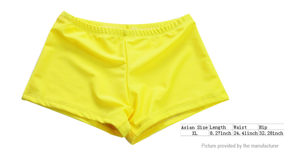 Womens Soft Breathable Drawstring Swimming Trunks Shorts (Size XL)