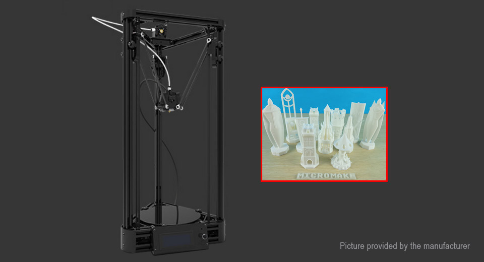 Authentic Micromake D1 3D Printer DIY Learning Package (Plastic Injection Version)