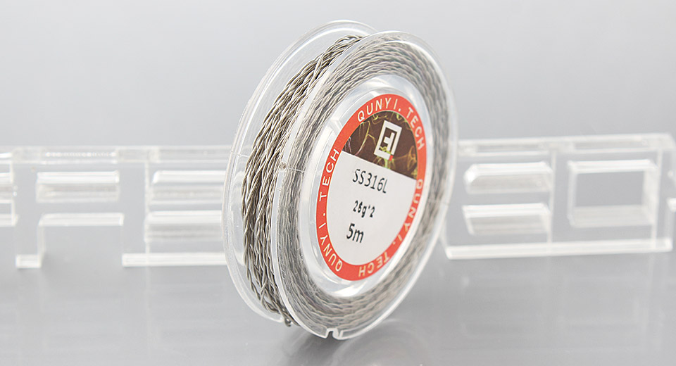 316L Stainless Steel Heating Wire for RBA Atomizers