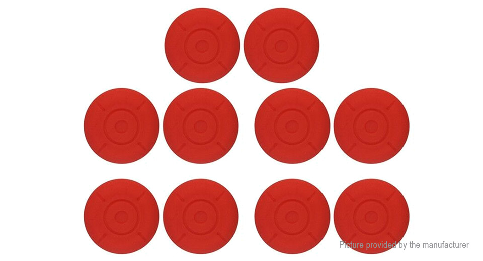 Silicone Joystick Button Caps for Nintendo Switch NS Game Console (10-Pack)