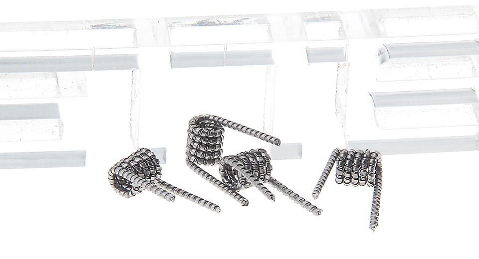 Thunderhead Creations Kanthal A1 Super Clapton Pre-coiled Wire (4-Pack)