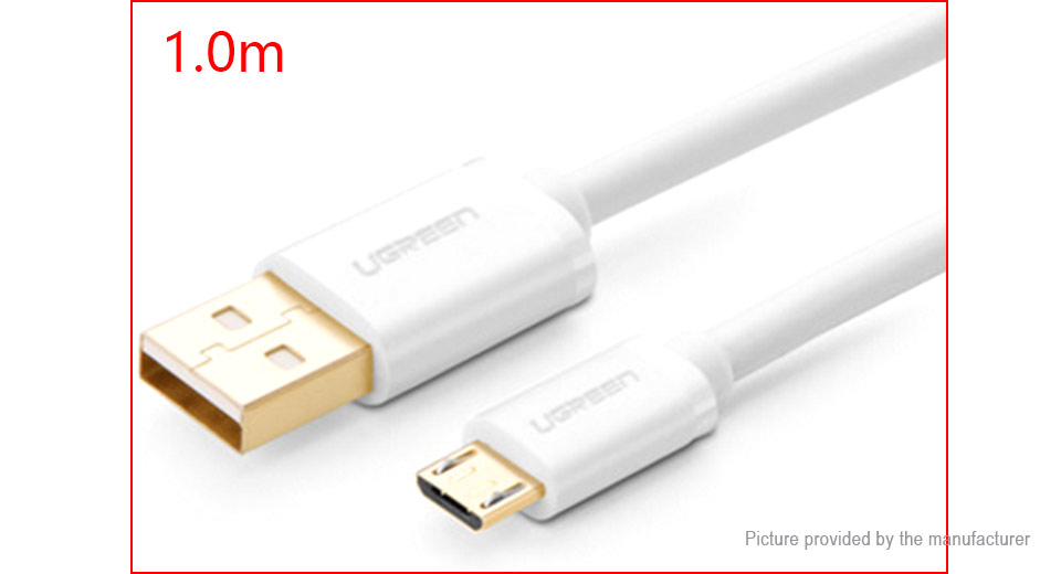 UGREEN Micro-USB to USB 2.0 Data Sync / Charging Cable (100cm)