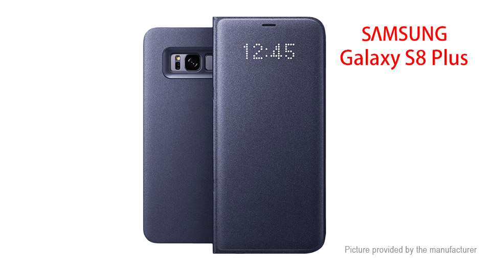 Authentic Samsung Galaxy S8+ Smart Flip-Open Protective Case
