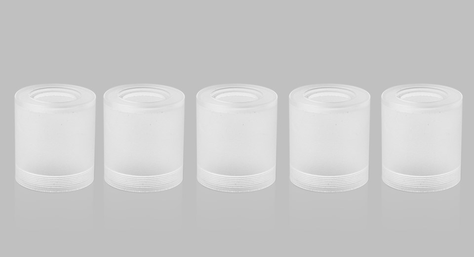 Replacement Acrylic Tank for Doggy RTA Atomizer (5-Pack)