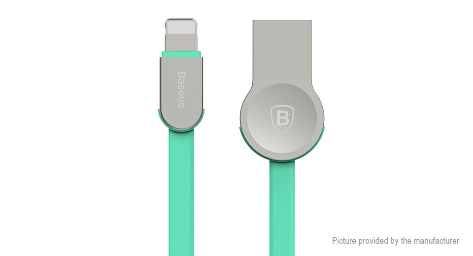 Baseus 8-pin to USB 2.0 Data Sync / Charging Flat Cable (100cm)