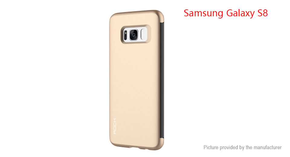 ROCK Dr. V Series Flip-Open Protective Case Cover for Samsung Galaxy S8