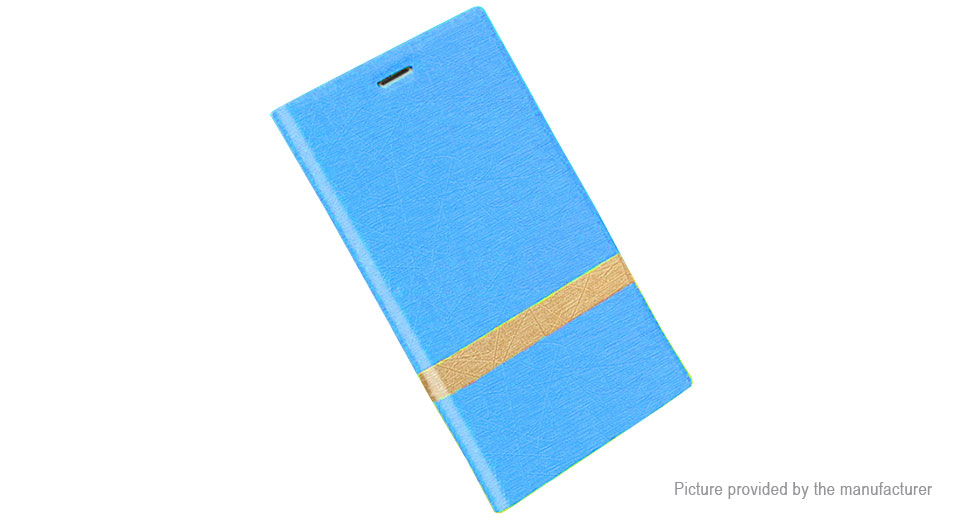PU Leather Protective Back Case Cover for ZTE nubia Z17 Mini