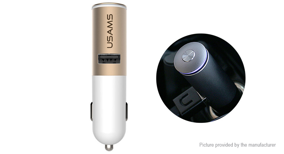 USAMS 2-in-1 Car Charger Bluetooth V4.1 Headset