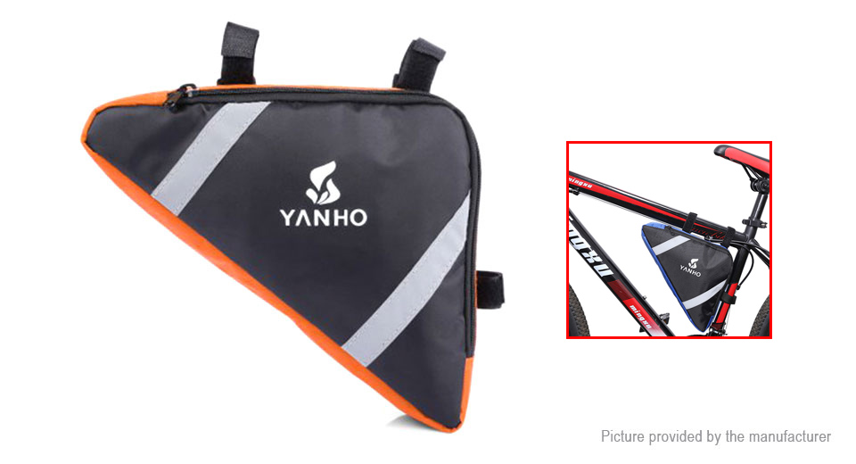 YANHO Cycling Lightweight Top Tube Triangle Bag Tools Pouch