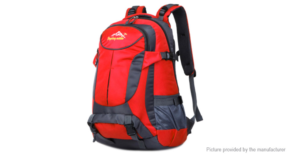 Outdoor Sports Travel Waterproof Nylon Casual Backpack Mountaineering Bag