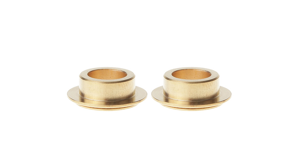 Stainless Steel 510 Drip Tip Adapter (2-Pack)