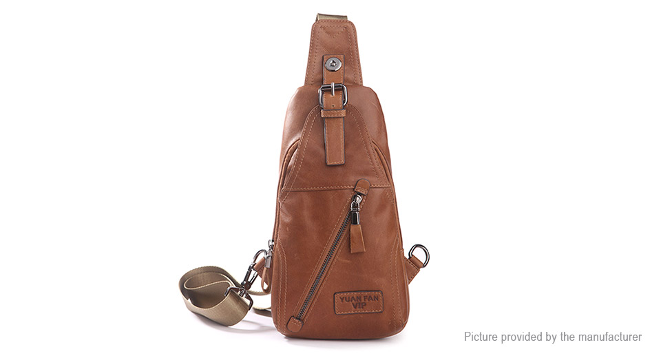 Mens Multifunction Casual Crossbody Chest Bag Sling Bag