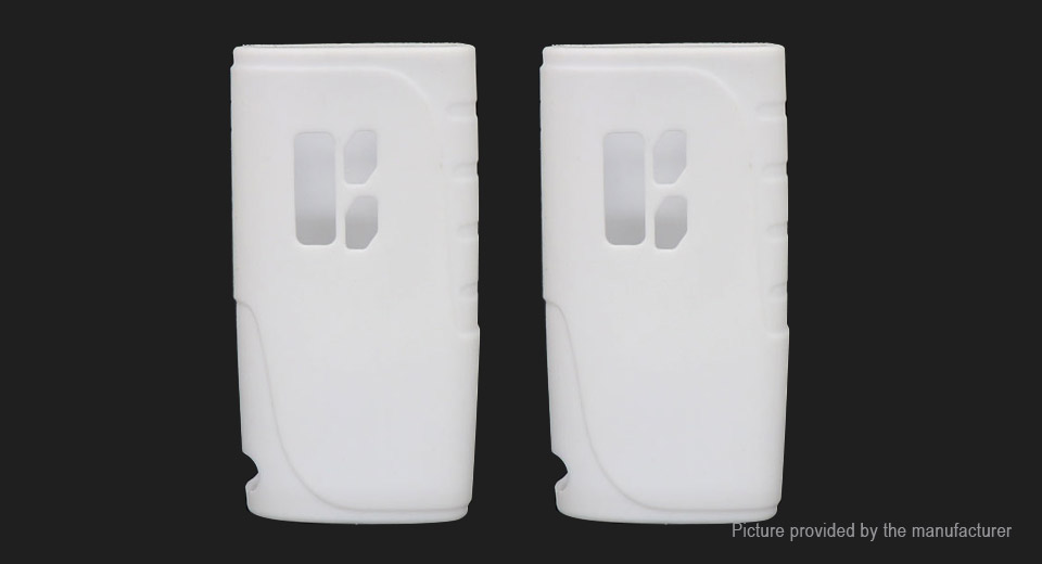 Iwodevape Protective Silicone Sleeve Case for Pioneer4You iPV 400 200W Mod (2-Pack)