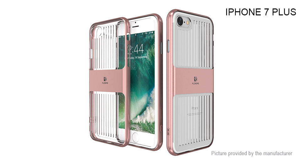Floveme Protective Back Case Cover for iPhone 7 Plus