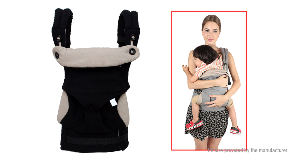 Multifunctional Breathable Baby Infant Carrier Sling Backpack Pouch Wrap