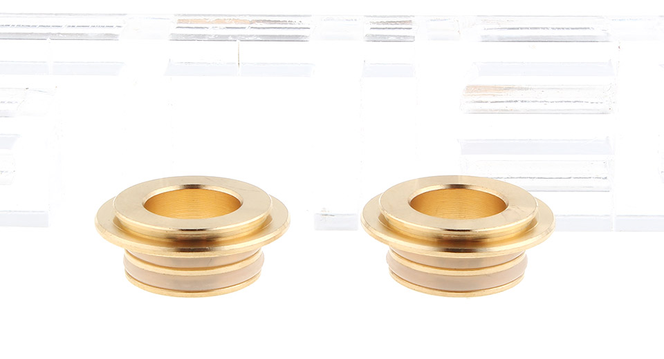 Stainless Steel 510 Drip Tip Adapter for SMOK TFV12 Atomizer (2-Pack)