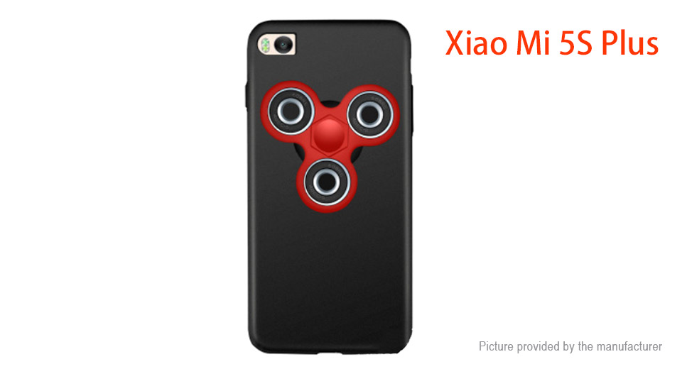 Pepkoo Hand Fidget Tri-Spinner Protective Back Case for Xiaomi Mi 5s Plus