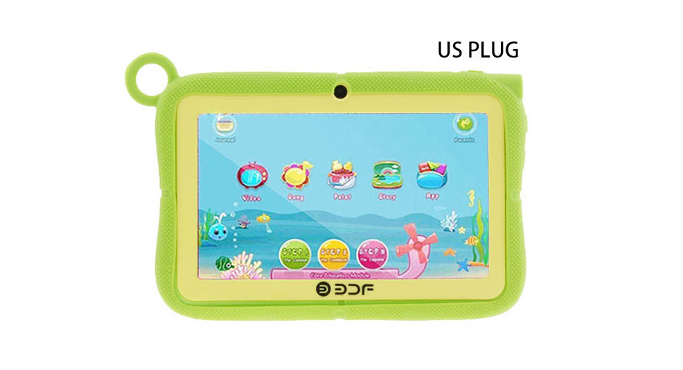 7 Touch Screen Quad-Core KitKat Kids Tablet PC + Stand Case Set (8GB/US)