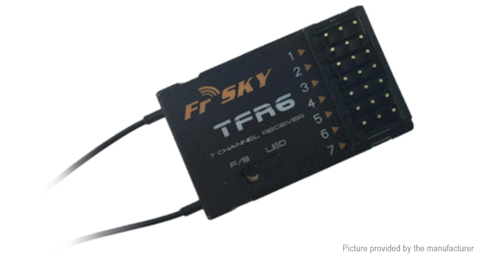 Frsky TFR6 7CH FASST Compatible Receiver