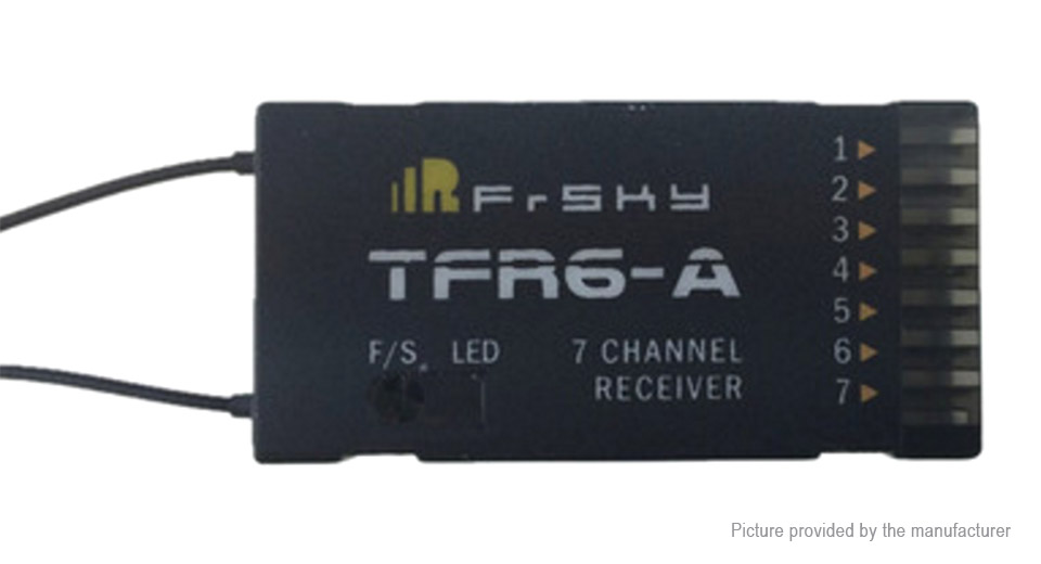 Frsky TFR6A 7CH FASST Compatible Receiver