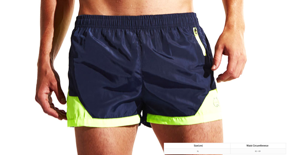Mens Sports Quick-dry Beach Casual Shorts Swimming Trunks (Size XL)