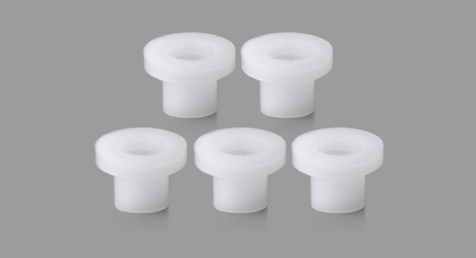 Replacement Center Screw Bottom Insulator for Taifun GT III RTA Atomizer (5-Pack)