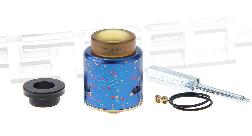 Authentic ADVKEN Ziggs V2 RDA Rebuildable Dripping Atomizer