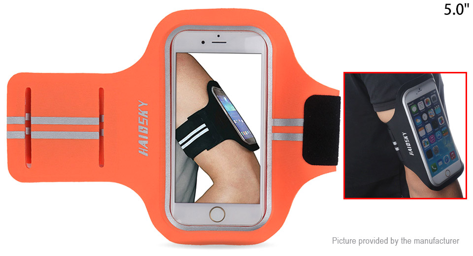 Haissky Sports Armband Case Bag for 5 Cell Phones