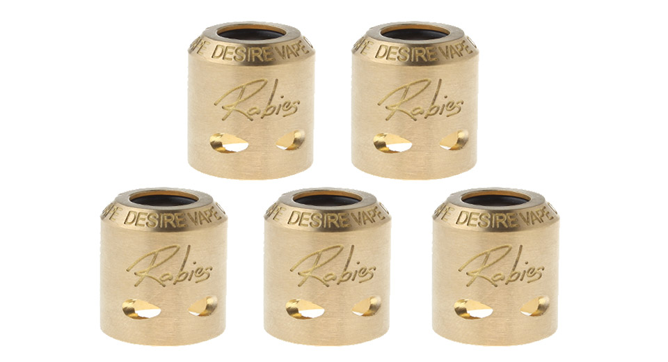 Replacement Sleeve Cap for Desire Rabies RDA (5-Pack)